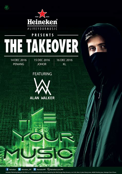 alan walker tunjungan plaza alan walker and heineken are taking over these malaysian