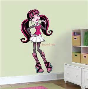 monster high draculaura decal removable wall sticker home