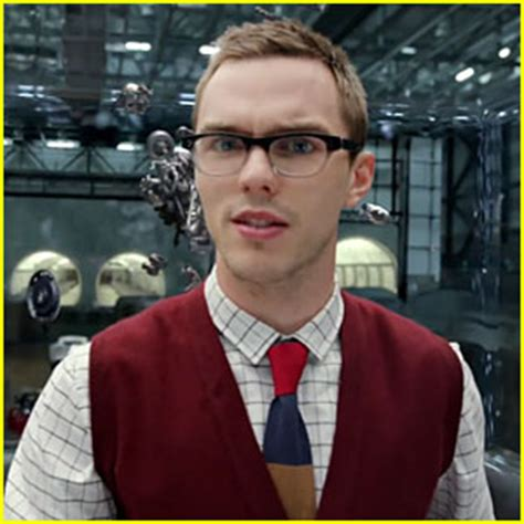the luckiest nerd in the world geeky actor reveals how it took sixty nicholas hoult is a geek chic villain in jaguar