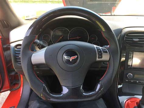 zr   corvette carbon fiber custom steering