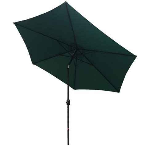 palm springs 8ft aluminium outdoor patio umbrella garden parasol with tilt