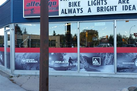 Window Decals Winnipeg by Wall Decals And Window Film Winnipeg Signs South