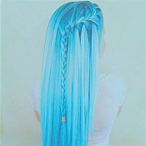 Light Blue Hair Color by Pastel Light Blue Light Blue Hair Hair Color Hair Blue Pastel Pics Blue Hair Image