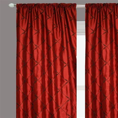 faux dupioni silk curtains palisades ready made drapery faux silk dupioni