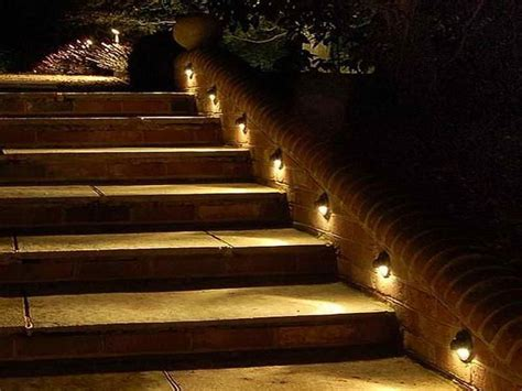 outdoor step lighting led outdoor step lights staircase lighting