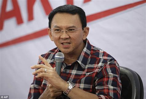 ahok leadership jakarta s first non islamic leader for 50 years is accused