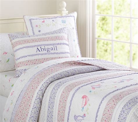 Abigail Quilt by Abigail Quilted Bedding Pottery Barn