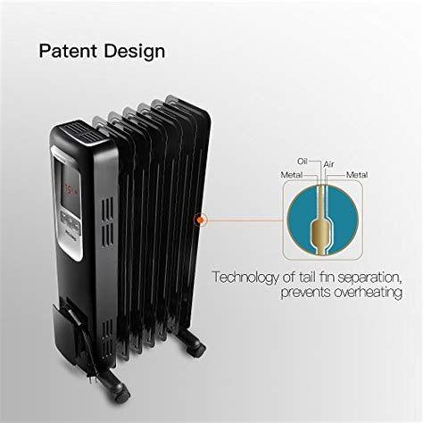 electric radiator heater  portable oil filled