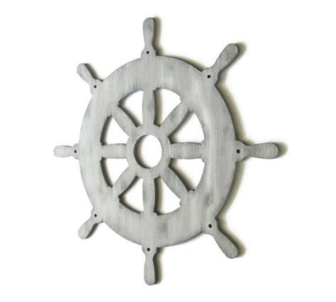 captains wheel wall decor rustic nautical from fischerfinearts