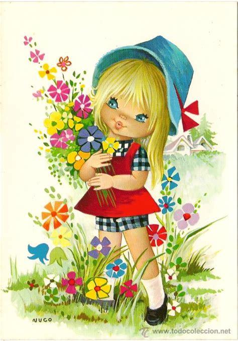 imagenes bonitas infantiles para niños interesante postal preciosa ni 241 a con bonitas f comprar