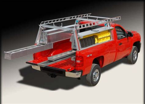 Up Truck Ladder Racks by Best 25 Truck Bed Tool Boxes Ideas On Truck