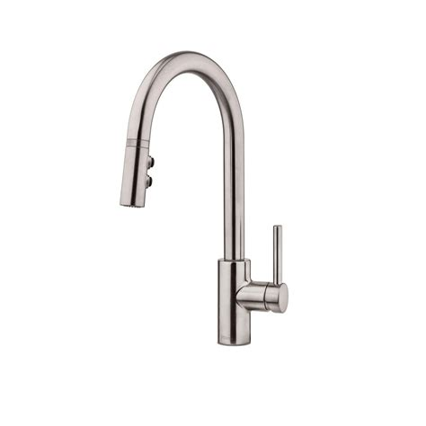 stainless steel kitchen faucet with pull down spray pfister stellen single handle pull down sprayer kitchen