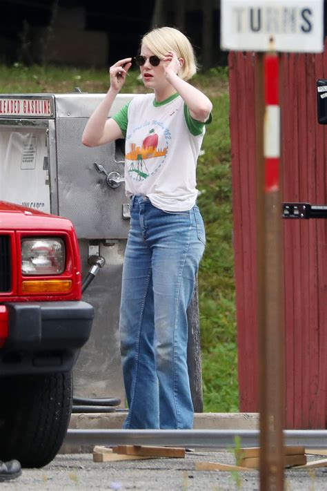 emma stone queen mary emma stone spotted shooting scenes on the set of maniac