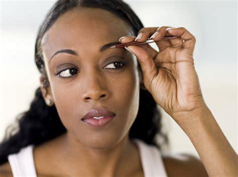 black women eyebrow eyebrow plucking tea bag lady1966 magazine