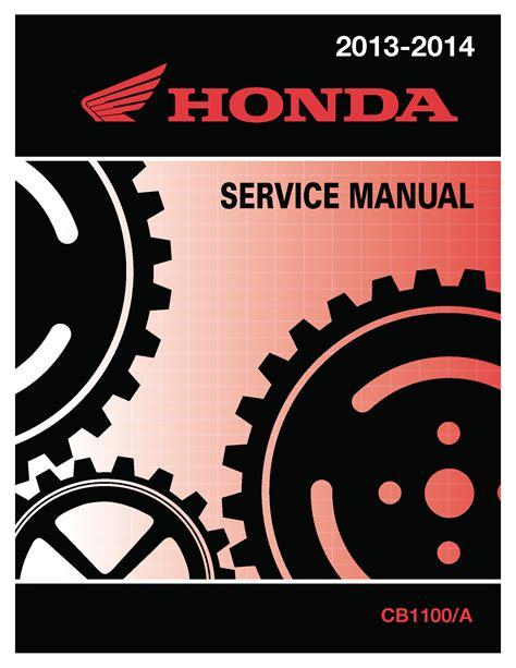 Honda Service Manual by Honda 2013 2017 Cb1100 A Service Manual Shop Repair 13