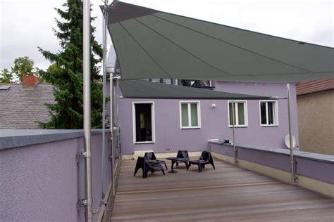 sonnensegel balkon hohmann sonnenschutz - Befestigung Sonnensegel Balkon