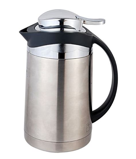 One Glass Polos tlh polo stainless steel teapot ptp 10 gp 1300 ml