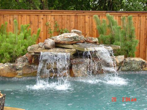 inground pool waterfalls water falls for pool bullyfreeworld com