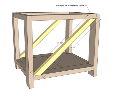 woodworking plans end table rustic end table woodworking plans woodshop plans