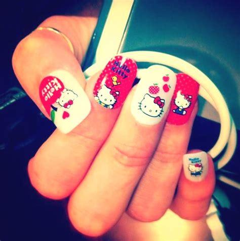 imagenes de uñas de hello kitty imagenes de unas decoradas uas decoradas sencillas