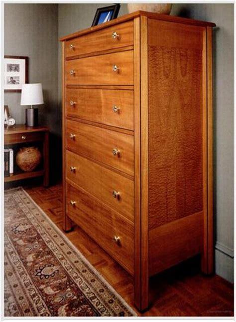 drawer tall dresser  woodworking