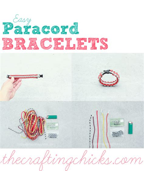 Printable Paracord Instructions | easy paracord bracelet aka safety bracelets the crafting