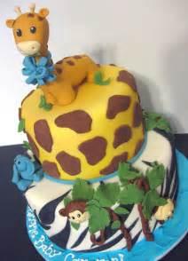 Safari Baby Shower by Safari Cakes Decoration Ideas Birthday Cakes