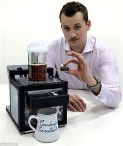 Tea machine 'makes the perfect cuppa in just two minutes' (  but will it cost more than 7,000