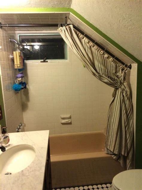 bathroom installing bathroom curtain ideas for prettier hanging closet rod max amazon amazon angled shower rod