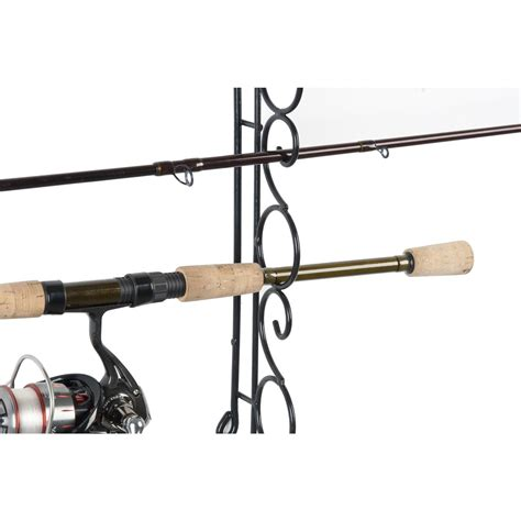 Ceiling Fishing Rod Rack by Organized Fishing 9 Capacity Wire Horizontal Ceiling Rack