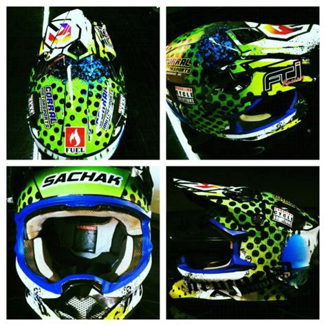 custom motocross helmet wraps helmet graphics moto related motocross forums
