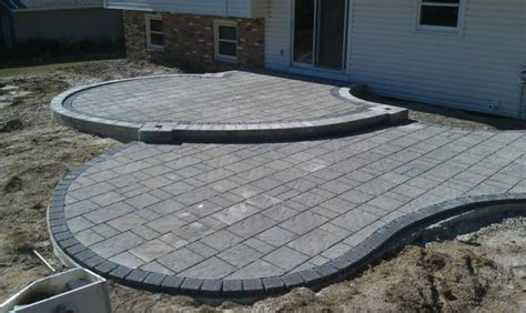 Patio Pavers Techo Bloc Techo Bloc Paver Patio Modern Patio Cleveland By
