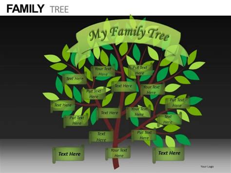 Download Free Editable Family Tree Template Family Tree Powerpoint Template