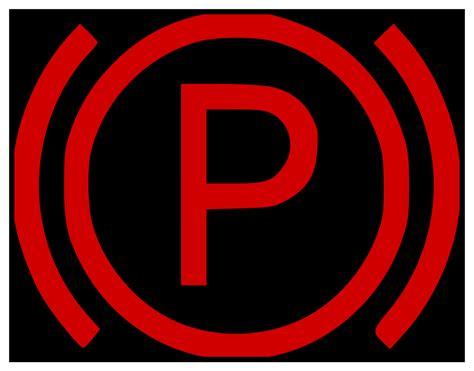fileb parking brake indicationsvg wikimedia commons