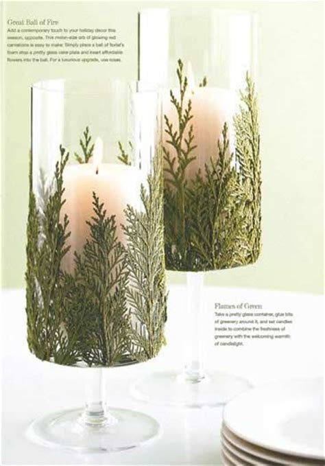 decorating for the holidays on a budget candle holders candles and candle