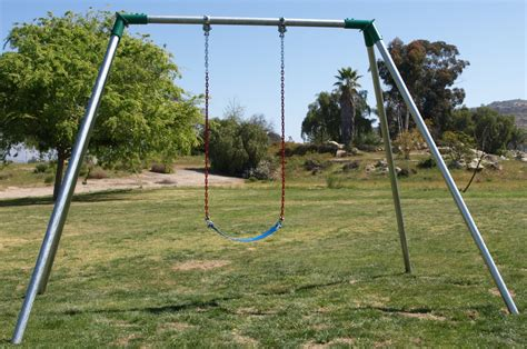 residential swing sets standard 8 ft high residential swing sets