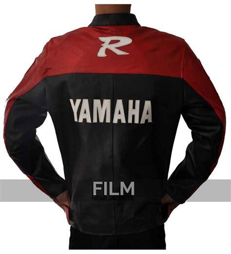 black motorcycle riding yamaha vintage motorcycle riding jacket