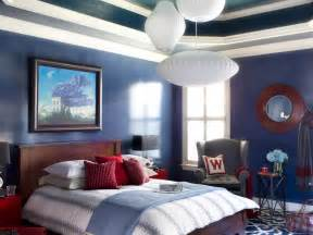 blue wall paint inspire total transformation prior to the makeover this master bedroom was in