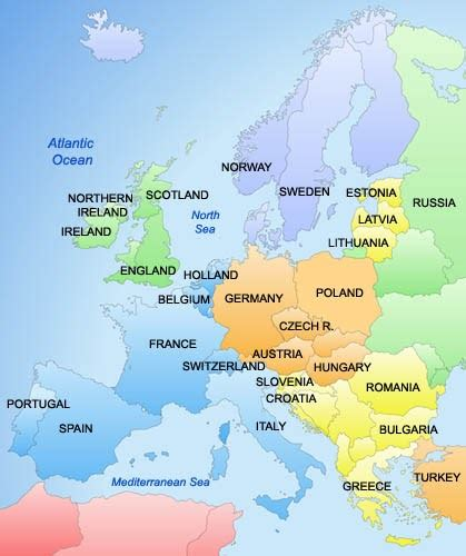 europe map pics map of europe cities pictures map of europe countries