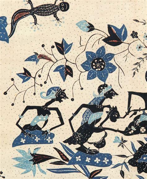Abigail 2 Batik Ab2 01 batik featuring wayang blue batik tulis