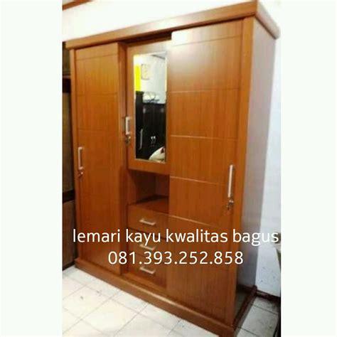 Lemari Kayu Akasia lemari kayu kwalitas bagus mbarepjati 0813 9325