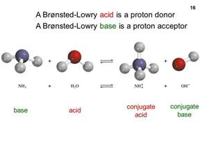 A Brønsted Lowry Acid Is A Proton Acceptor The Chemistry Of Acids And Bases Ppt