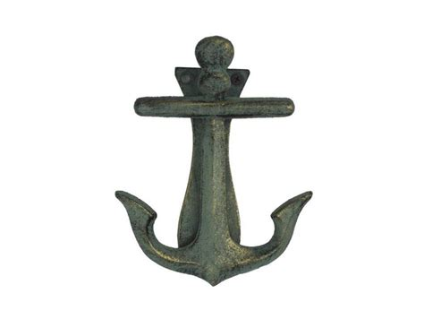 nautical home decor wholesale buy antique bronze cast iron decorative anchor door