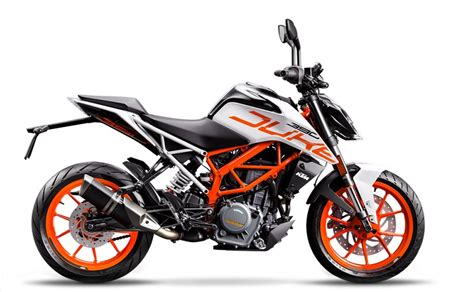 Duke Ktm 390 2017 Ktm 390 Duke Limited Edition White Paint Scheme