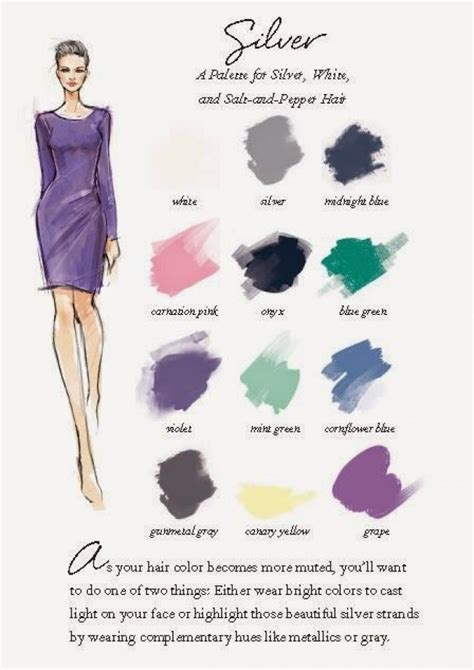 what colour goes with grey clothes 17 best ideas about silver hair colors on pinterest