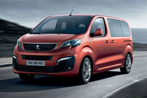 peugeot car van peugeot traveller 2016 van review honest john