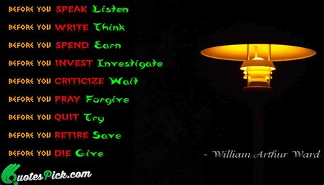 Smile Before Talk william arthur ward quotes with picture william arthur ward sayings quotespick
