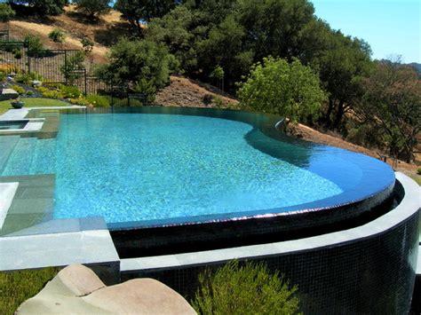 Kitchen Cabinet San Francisco by Lafayette Vanishing Edge Pool Modern Pool San