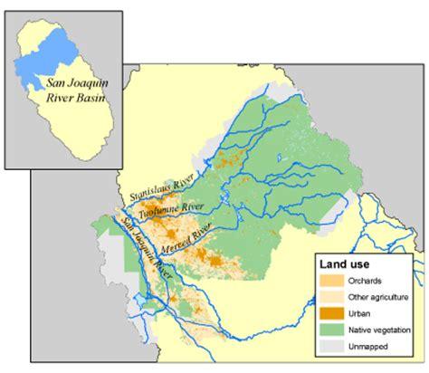 california map san joaquin river usgs california water science center san joaquin tulare