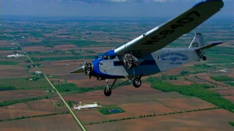 Ford Trimotor by Historic Ford Tri Motor Lumbering Into South Florida Sun